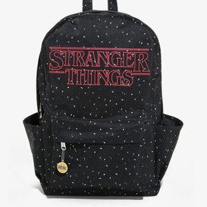 Loungefly Stranger Things Logo Speckled Backpack
